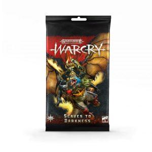 Warcry: pack de cartas de Slaves to Darkness