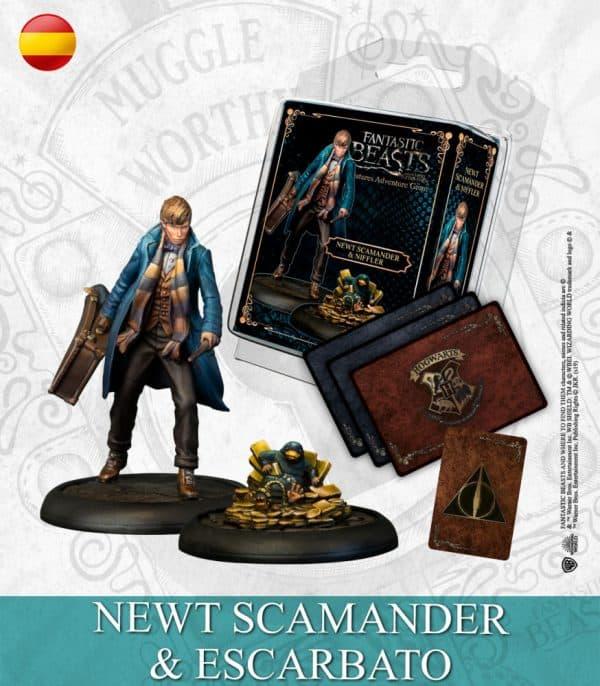 Newt Scamander Y Niffler
