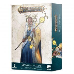 Broken Realms: Arcobalde Lazerne – Magos de guerra de Xintil