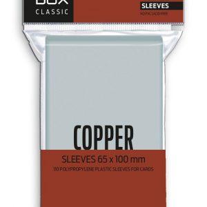 FUNDAS RED BOX COPPER CLASSIC 60 MICRAS 65X100 (110)