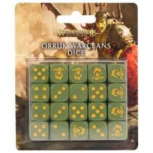 ORRUK WARCLANS DICE